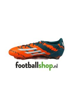 Adidas Messi 10.2 FG oranje/blauw binnenkant