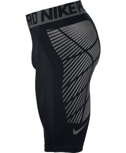 Nike Pro Hyperstrong Footballl Slider Shorts Black 727059 zijkant short