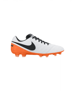 Nike Tiempo Legacy II White Black Total Orange 819218-108