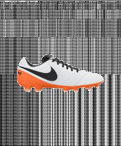Nike Tiempo Legacy II White Black Total Orange 819218-108