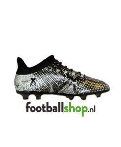 adidas X 16.2 FG Vapour Green Core Black BB4191 zijkant schoen