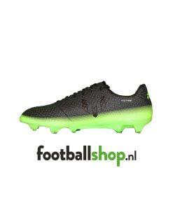 adidas Messi 16.1 Dark Grey Silver Met Solar Green S79625 zijaanzicht