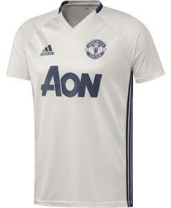 Manchester United Trainingsshirt Chalk White