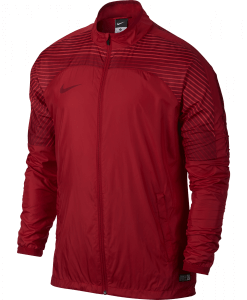Nike Revolution Graphic Woven Jacket Red