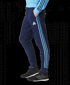 adidas Olympique Marseille Sweat Trainingspak 2017-2018 Broek zijaanzicht
