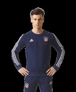 Bestel nu het adidas Bayern Munchen Sweat Trainingspak 2017-2018 Collegiate Navy en draag het casual of tijdens een training. Dit Bayern München trainingspak is gemaakt van 70% katoen en 30% polyester. De fleece voering houdt de warmte perfect vast. Het adidas Bayern Munchen trainingspak is ontworpen in de stijl van de thuiscollectie van Der Rekordmeister.