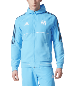 adidas Olympique Marseille Presentatie Jack 2017-2018 Omblue
