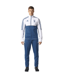 adidas Juventus Trainingspak 2017-2018 Blue Night White Gold