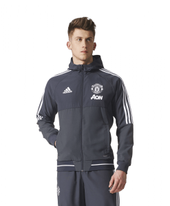 adidas Manchester United Presentatie Jack 2017-2018 Night Grey White